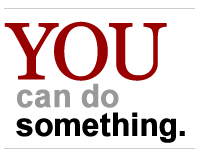 YOU can do something.